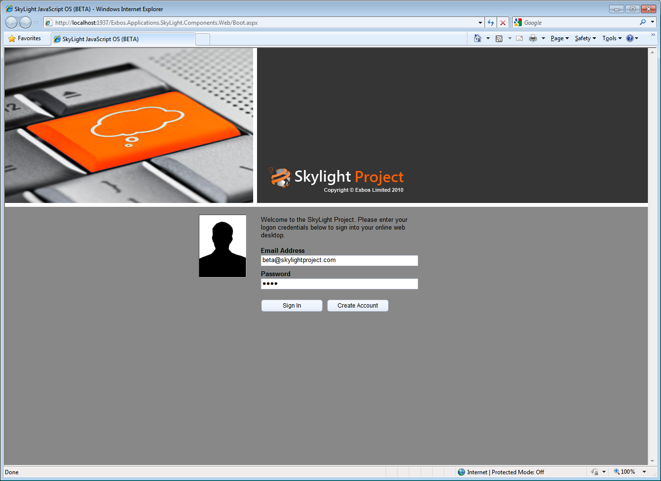 SkyLight Logon